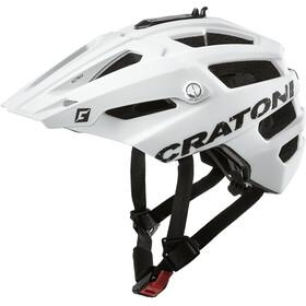 Cratoni AllTrack Kask MTB, white